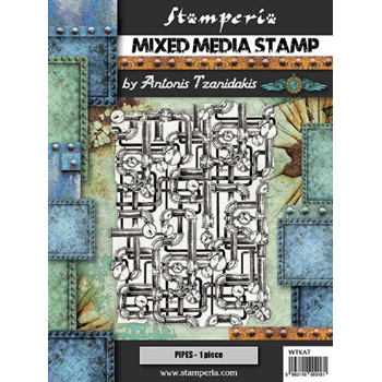 Stamperia SEA WORLD PIPING Stamp wtkat10