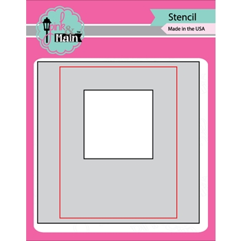 Pink and Main MASK IT SQUARE Stencil PMS020
