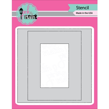 Pink and Main MASK IT RECTANGLE Stencil PMS025