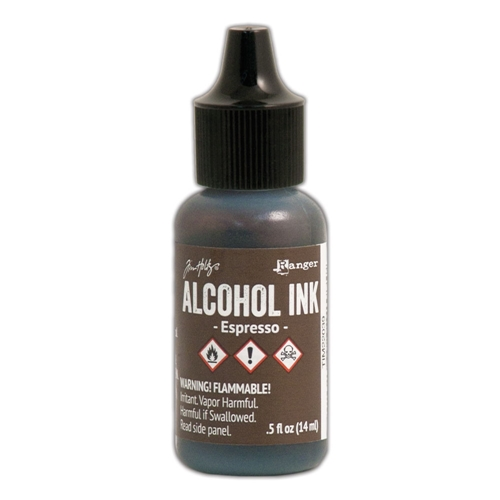 Tim Holtz Alcohol Ink ESPRESSO Ranger TIM22039 Preview Image