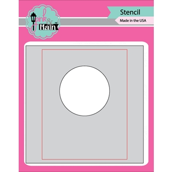 Pink and Main MASK IT CIRCLE Stencil PMS022