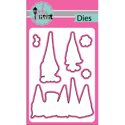 Pink and Main LUCKY GNOMES Dies PNM264 Preview Image