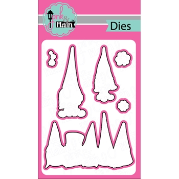 Pink and Main LUCKY GNOMES Dies PNM264
