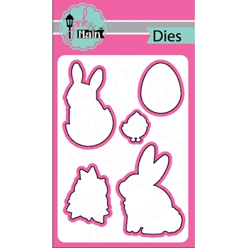 Pink and Main EASTER EGGS Dies PNM265