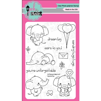 Pink and Main EARS TO YOU Clear Stamps PM0391