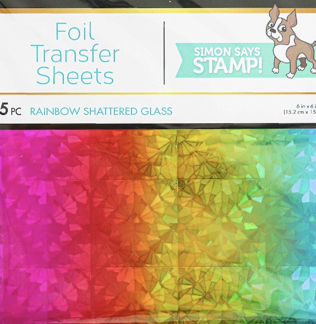 Therm O Web RAINBOW SHATTERED GLASS DecoFoil Foil Transfer Sheets 5549 zoom image