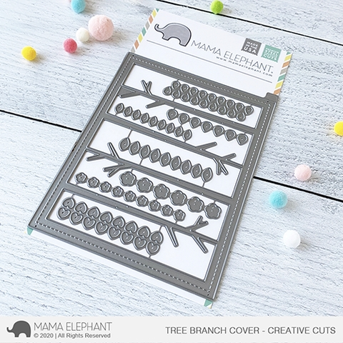 Mama Elephant TREE BRANCH Creative Cuts Steel Dies Preview Image