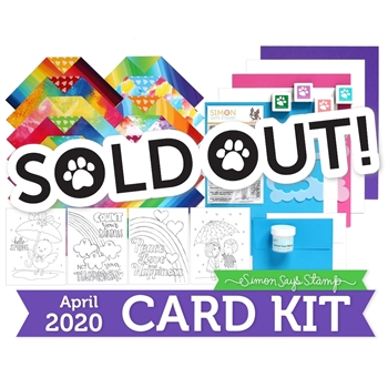 Simon Says Stamp Card Kit FOLLOW THE RAINBOWS ck0420
