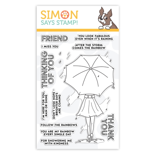 Simon Says Clear Stamps FOLLOW THE RAINBOWS sss102110  Preview Image