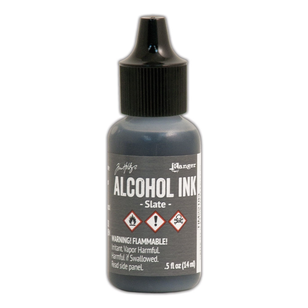 Tim Holtz Alcohol Ink SLATE Ranger TIM22183 zoom image