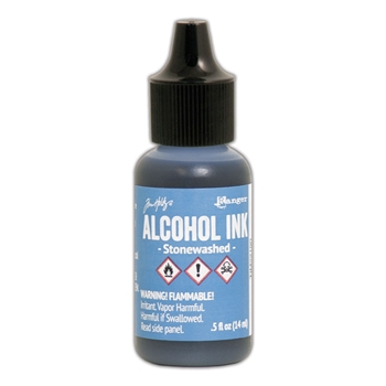 Tim Holtz Alcohol Ink STONEWASHED Ranger TIM22190