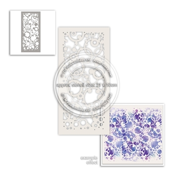 Polkadoodles HEAVENLY CIRCLES Stencil pd8010