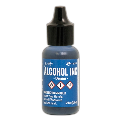 Tim Holtz Alcohol Ink DENIM Ranger TIM22015 Preview Image