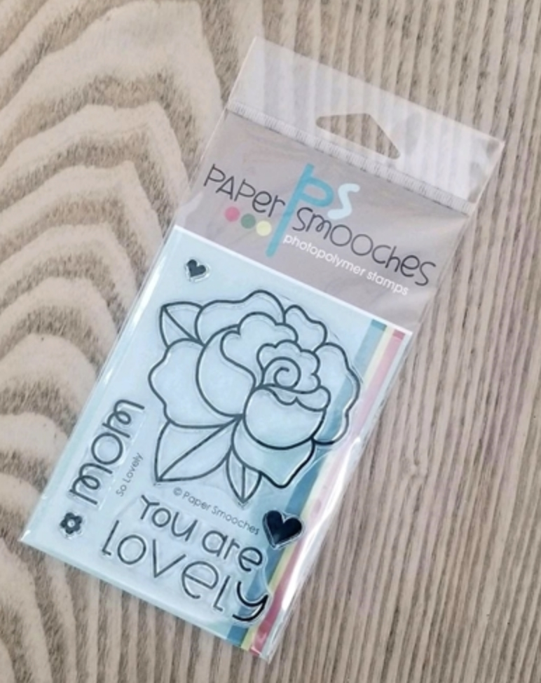 Paper Smooches SO LOVELY Clear Stamps m1s328 zoom image