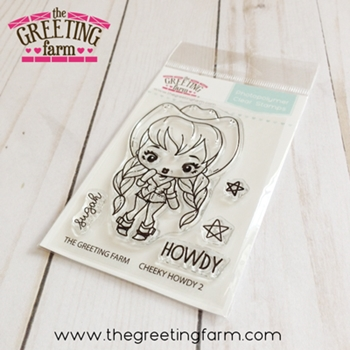 The Greeting Farm CHEEKY HOWDY 2 Clear Stamps tgf539