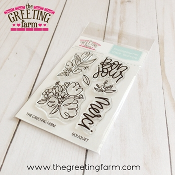 The Greeting Farm BOUQUET Clear Stamps tgf540