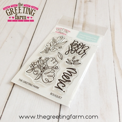The Greeting Farm BOUQUET Clear Stamps tgf540 zoom image