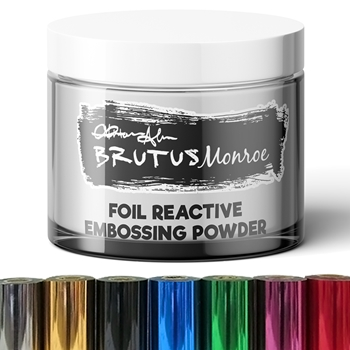 Brutus Monroe FOIL REACTIVE Embossing Powder bru2989