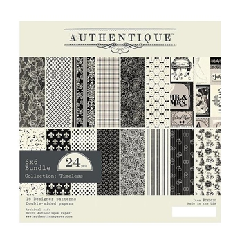 Authentique 6 x 6 TIMELESS Paper Pad tml010