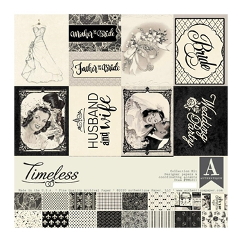 Authentique TIMELESS 12 x 12 Collection Kit tml011