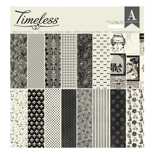 Authentique TIMELESS 12 x 12 Paper Pad tml012 Preview Image