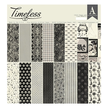 Authentique TIMELESS 12 x 12 Paper Pad tml012