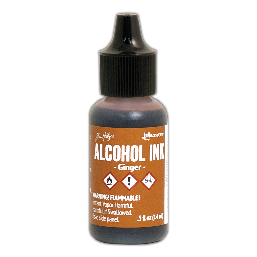 Tim Holtz Alcohol Ink GINGER Ranger TIM22046 zoom image
