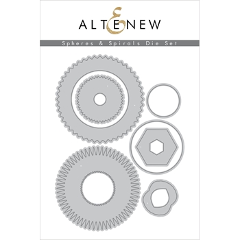 Altenew SPHERES AND SPIRALS Dies ALT3941