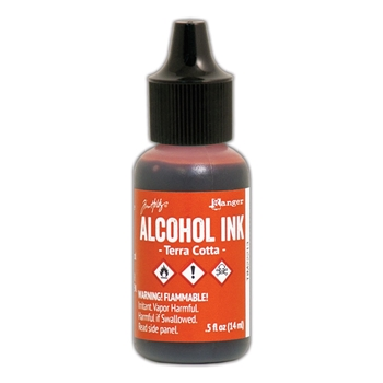 Tim Holtz Alcohol Ink TERRA COTTA Ranger TIM22213