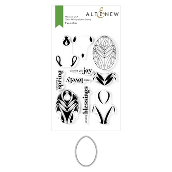 Altenew PYSANKA Clear Stamp and Die Bundle ALT3939