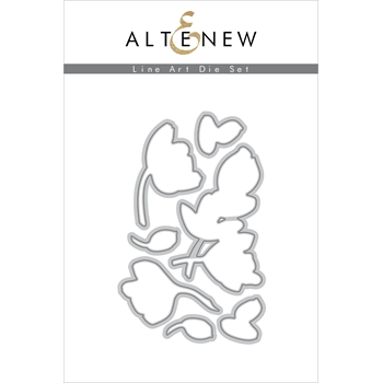 Altenew LINE ART Dies ALT3935