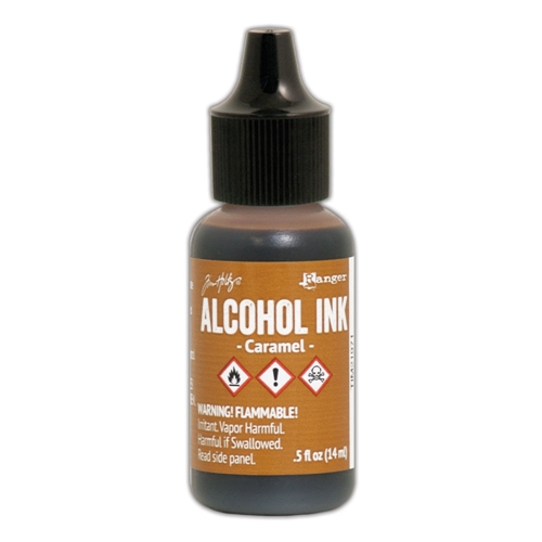 Tim Holtz Alcohol Ink CARAMEL Ranger TIM21971 Preview Image