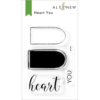 Altenew HEART YOU Clear Stamps ALT3931