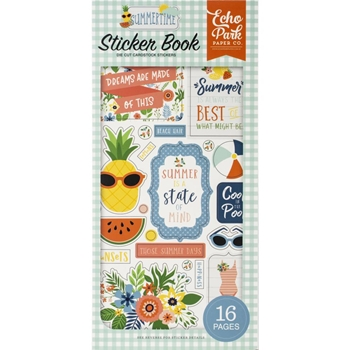 Echo Park SUMMERTIME Sticker Book sum209029