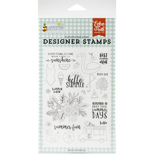 Echo Park SUMMER LOVIN' Clear Stamps sum209044 Preview Image