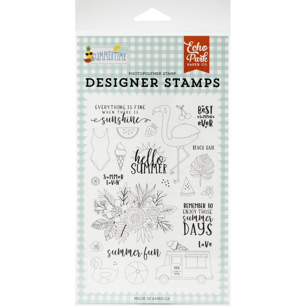 Echo Park SUMMER LOVIN' Clear Stamps sum209044 zoom image