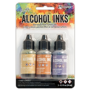 Tim Holtz Alcohol Ink Set WILDFLOWERS Ranger TAK25948