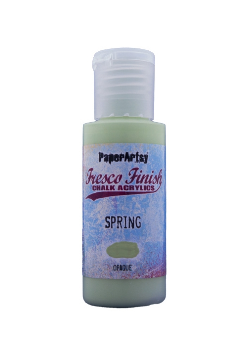 Paper Artsy Fresco Finish SPRING Chalk Acrylic Paint ff180 zoom image