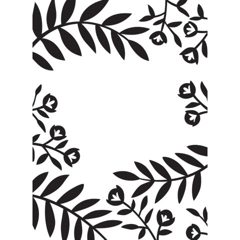 Darice FLOWERS AND LEAVES Embossing Folder 30032606 Preview Image