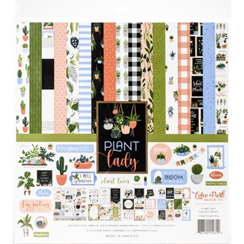 Echo Park PLANT LADY 12 x 12 Collection Kit pla211016
