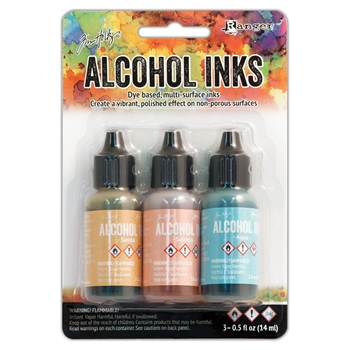 Tim Holtz Alcohol Ink Set LAKESHORE Ranger TAK25955