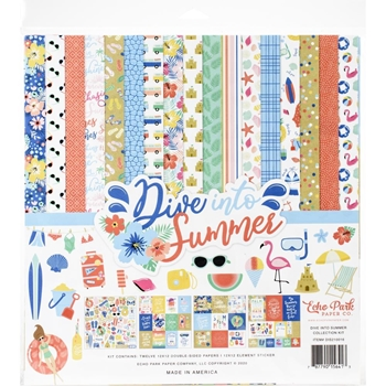 Echo Park DIVE INTO SUMMER 12 x 12 Collection Kit dis210016