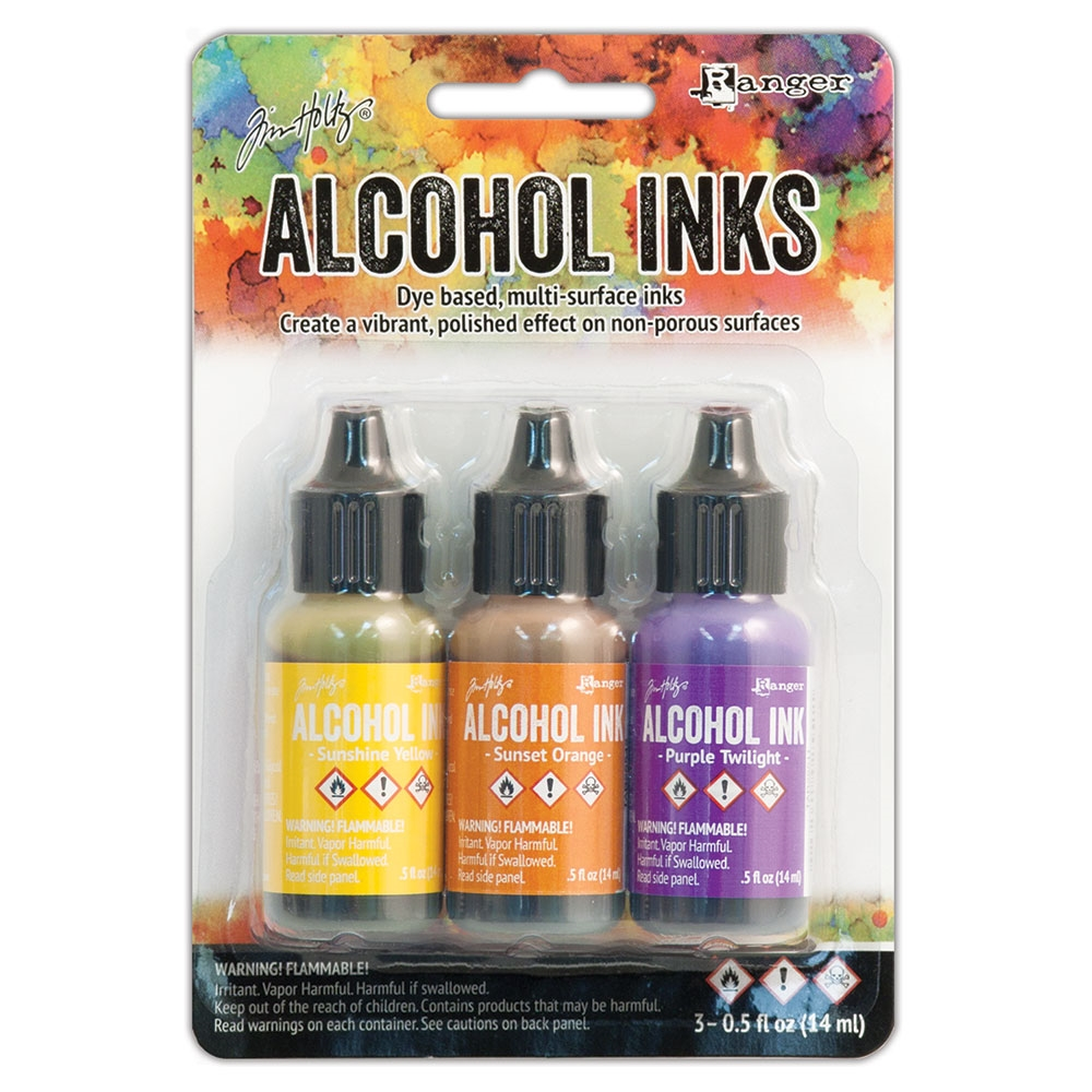 Tim Holtz Alcohol Ink Set SUMMIT VIEW Ranger TAK25986 zoom image