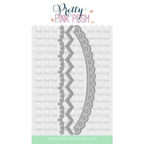 Pretty Pink Posh EYELET BORDERS Dies  Preview Image