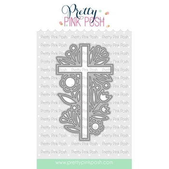 Pretty Pink Posh DECORATIVE CROSS Dies