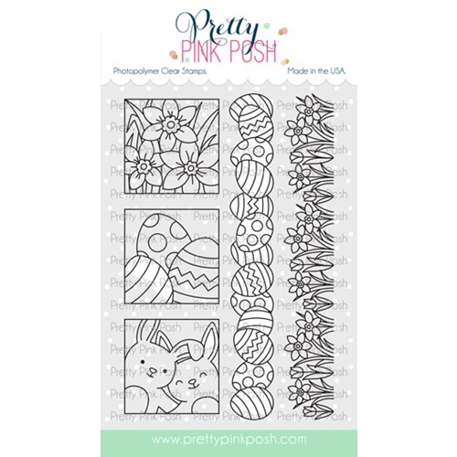Pretty Pink Posh SPRING DAYS Clear Stamps Preview Image