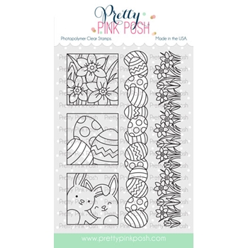 Pretty Pink Posh SPRING DAYS Clear Stamps