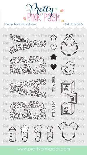 Pretty Pink Posh BABY Clear Stamps zoom image