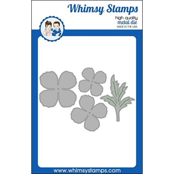 Whimsy Stamps POPPY FLOWER Dies WSD448