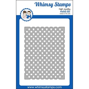 Whimsy Stamps LATTICE A2 Die WSD355